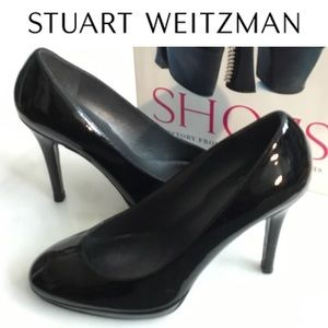 Stuart Weitzman Patent Leather Pumps Size 5.5 M
